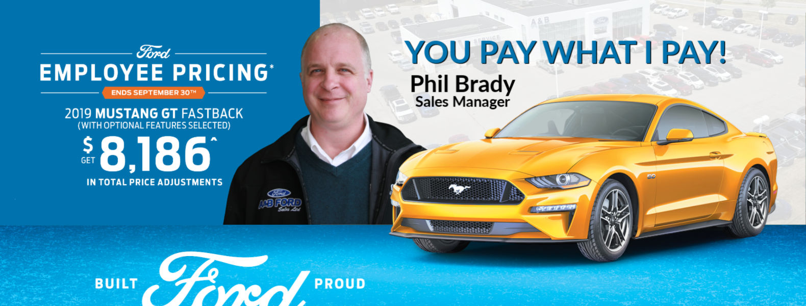 ford employe pricing