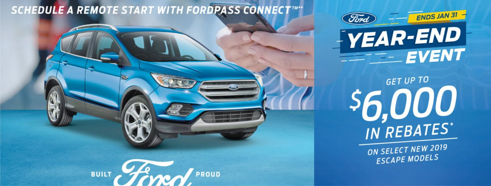 ford escape 2019 rebate