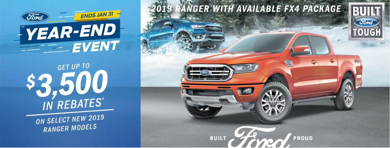 ford ranget 2019 rebate