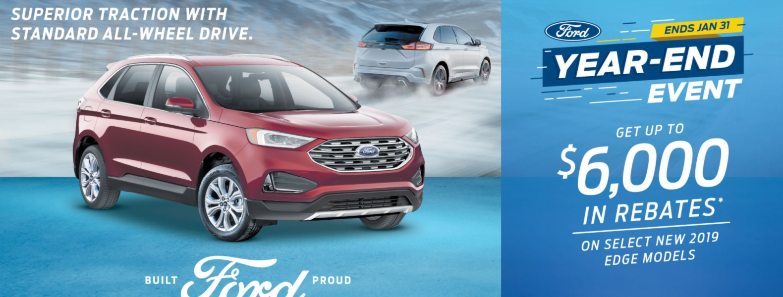 ford edge 2019 rebate