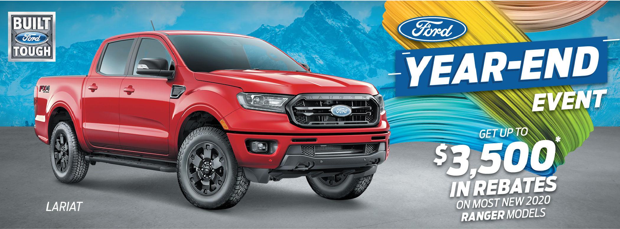2020 new Ford ranger