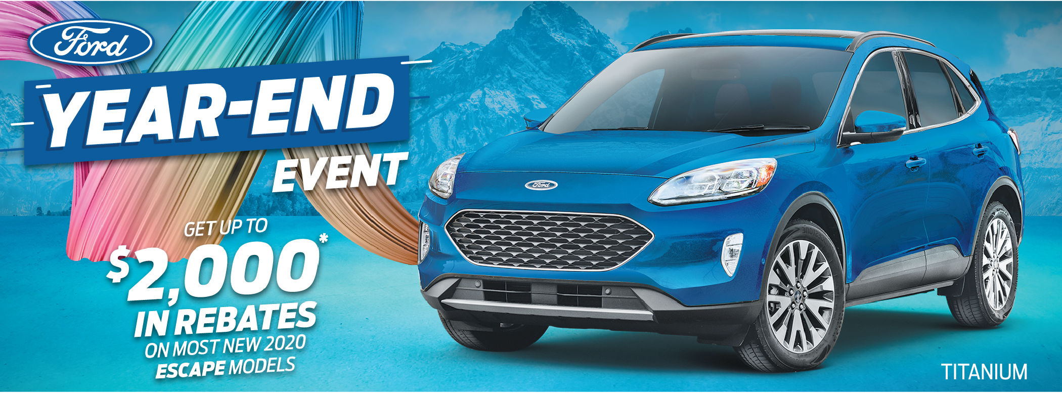 2020 new Ford escape