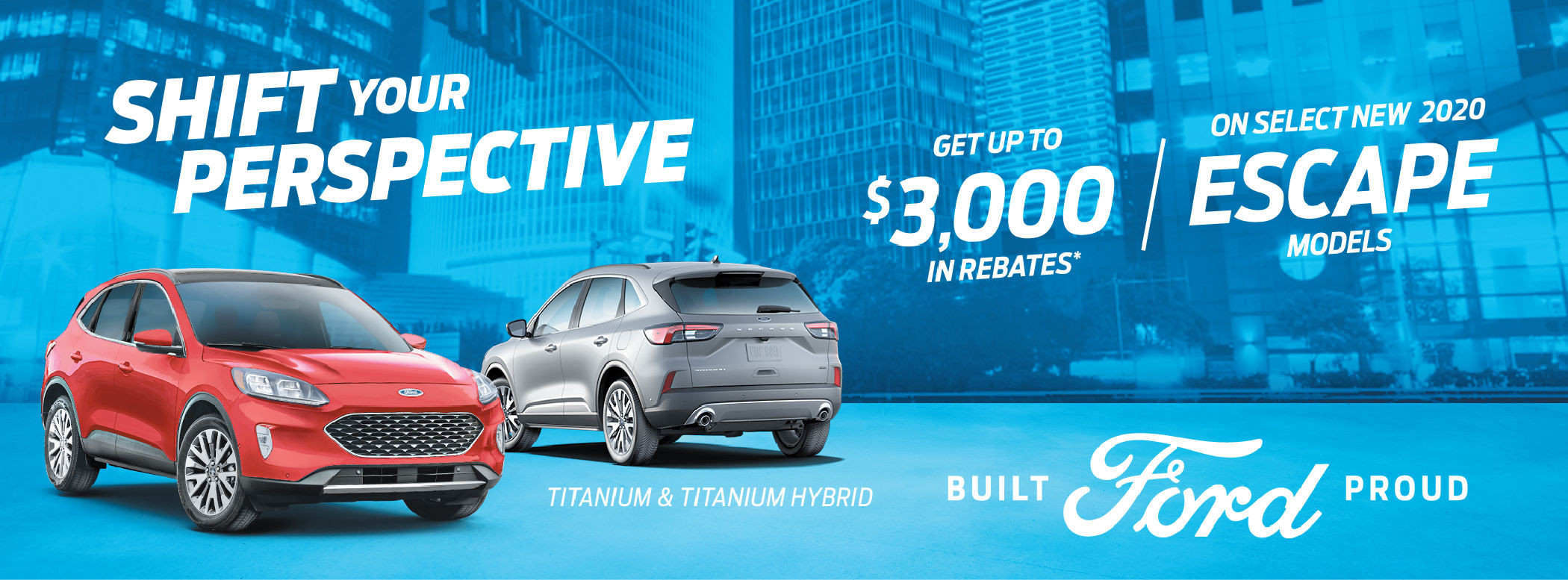 Ford Escape Special Offer