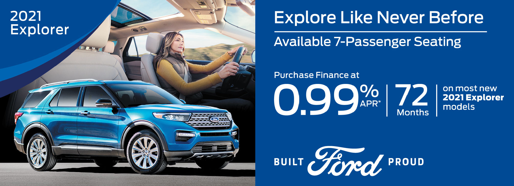 Ford Explorer Special Offer