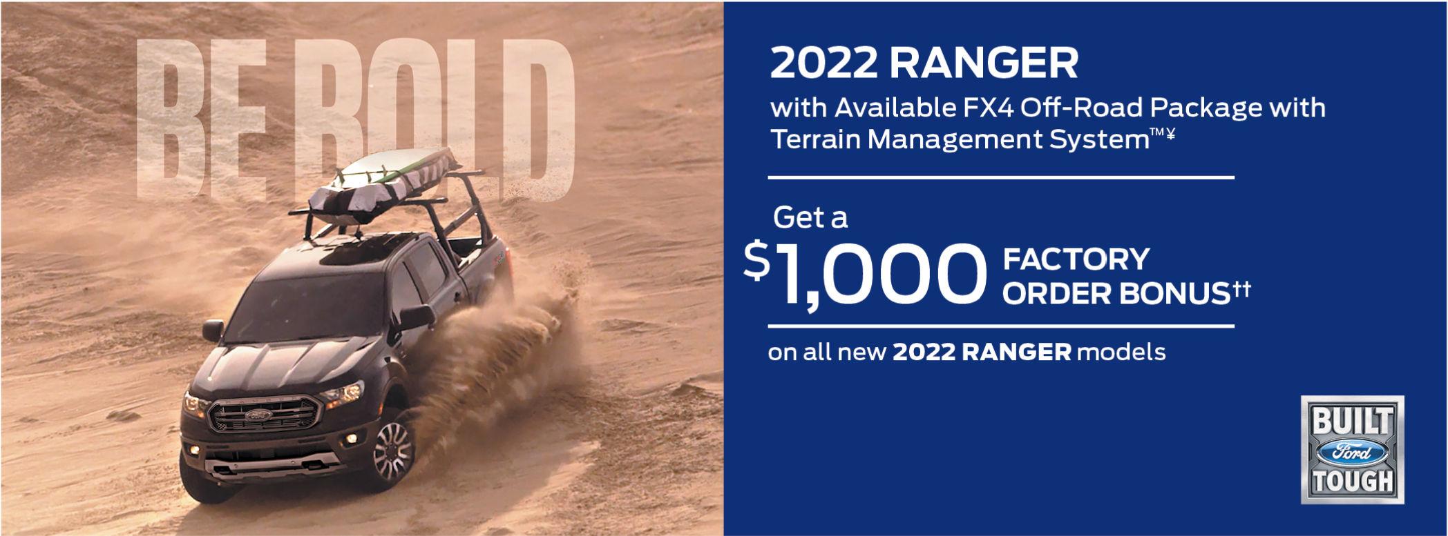 New Ford Ranger 2021