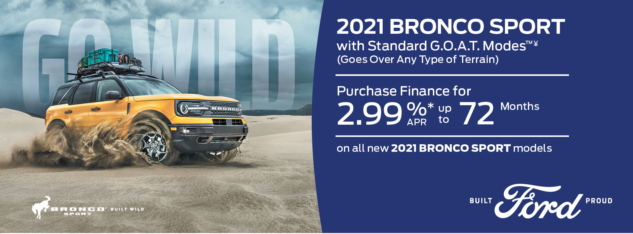 New Ford Bronco Sport 2021