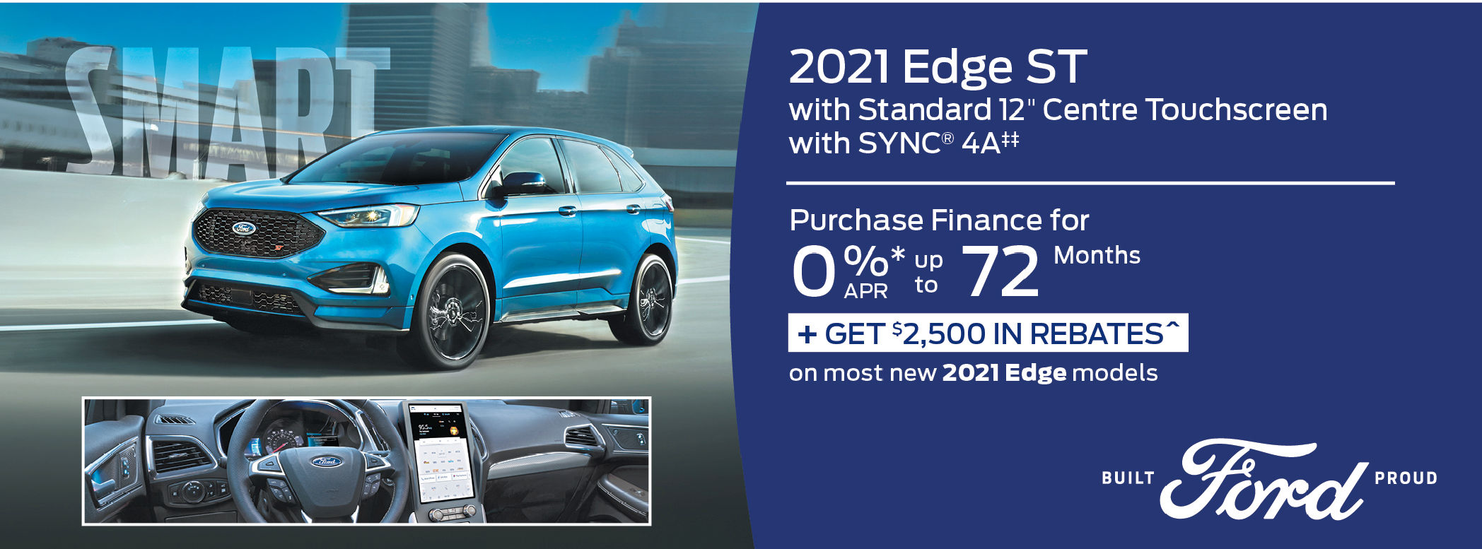 New Ford Edge 2021