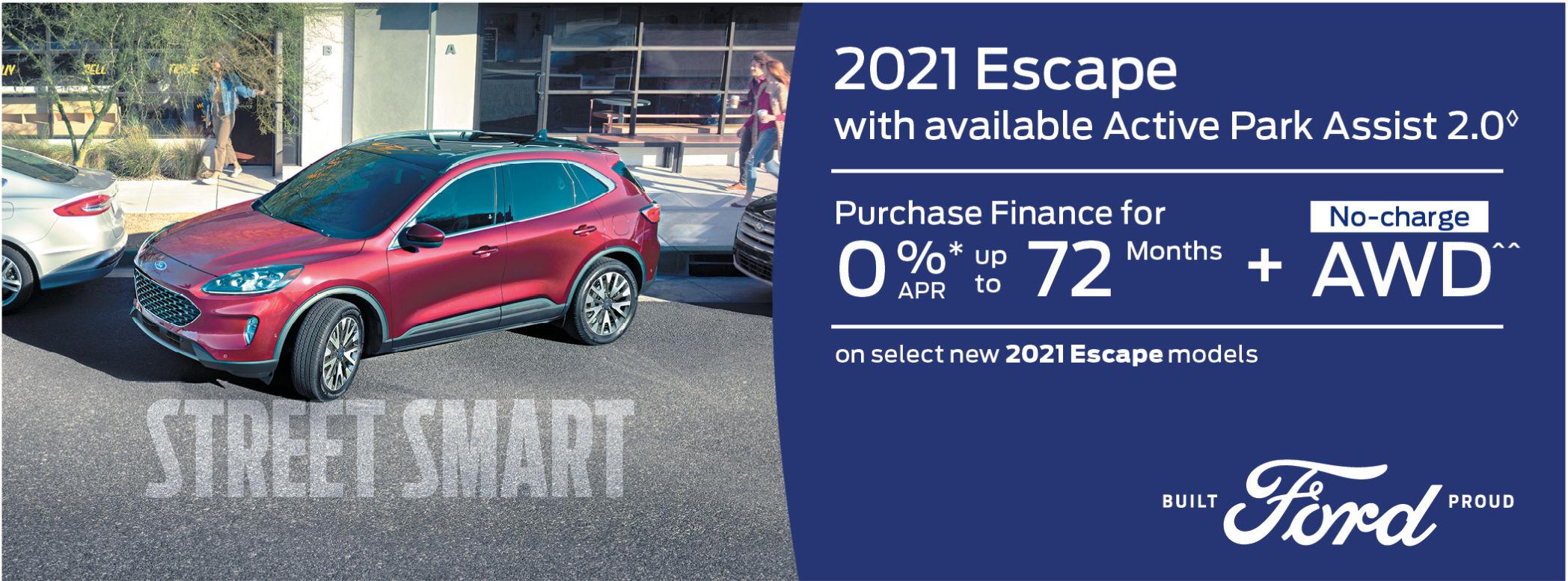New Ford Escape 2021